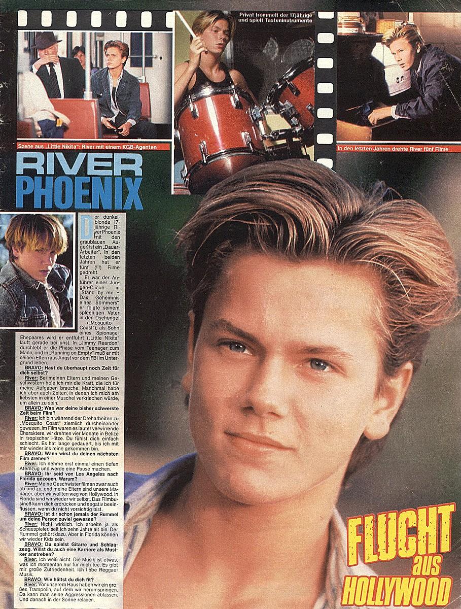 The River Phoenix Page... Ellen Page